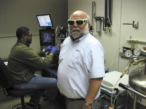 Larry Dosser, founder of Mound Laser, will lead Wright State University's new center for manufacturing sciences.
