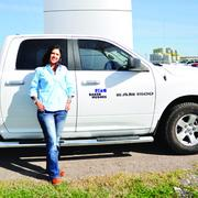 Elda O. Latham is a district technical supervisor for Baker Hughes in Alice, Texas.
