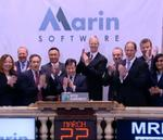 Marin Software IPO raises $105M, stock opens up 36%