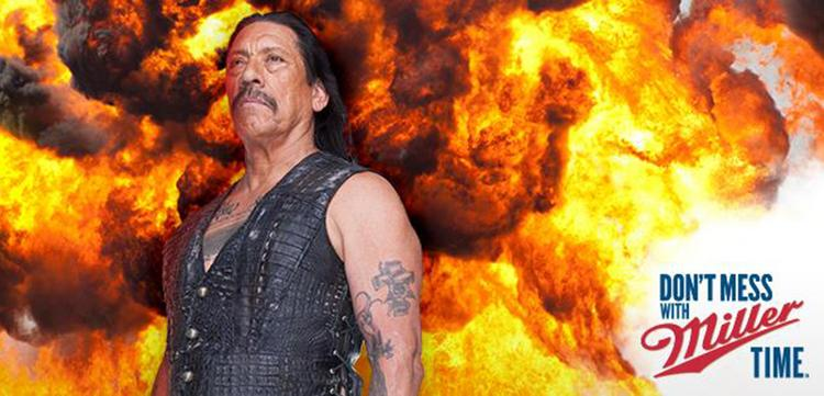 Danny Trejo has been tapped for a Miller Lite advertising campaign that launched Wednesday on national Spanish-language television.