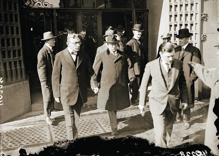 Teddy Roosevelt visited The Brown for the first time in 1905.