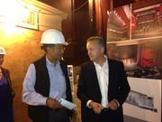 Albert Dixon of Lorraine Hansberry Theatre and Strand Theater architect Michael Duncan of Skidmore Owings & Merrill