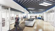 This rendering offers another view of the planned space at GE's Appliance Park in Louisville.