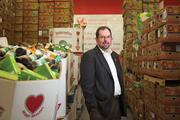 Jamie Miller said fighting hunger is an important part of Giant Food's mission.