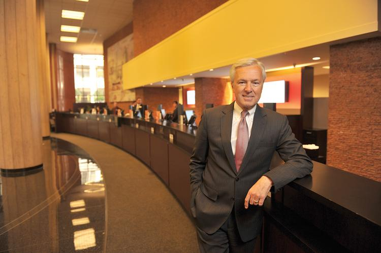 """""""I love checking accounts. Idream about them,"""" says John Stumpf, Wells Fargo's CEO since 2007."""