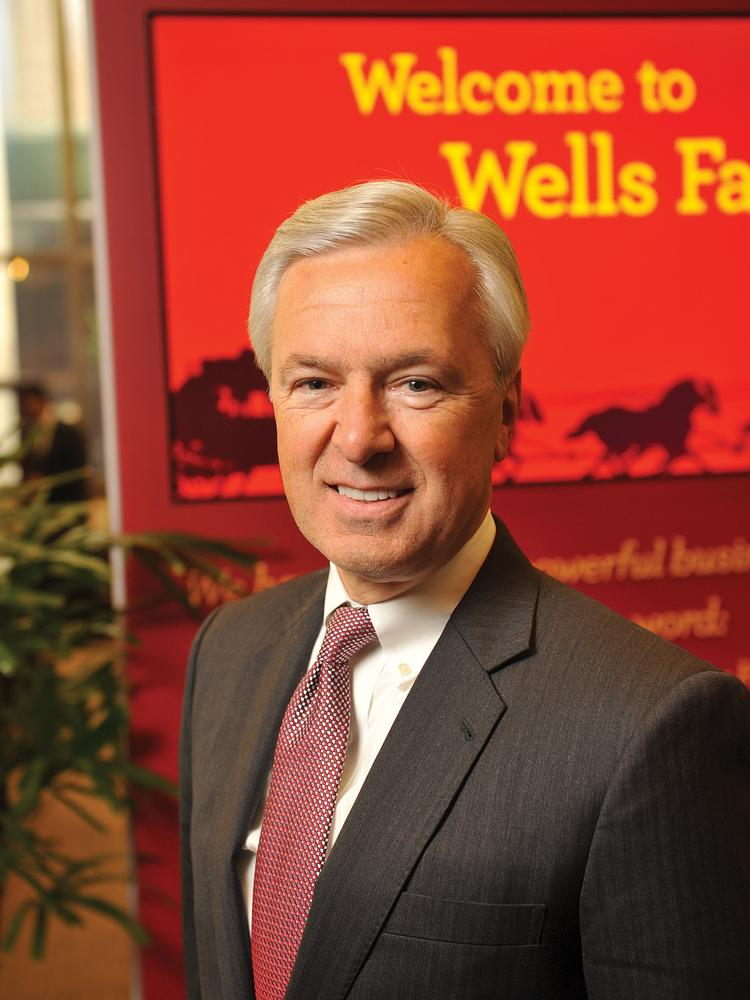 Wells Fargo Chairman and CEO John Stumpf is auctioning a personal lunch with him in San Francisco to support the Guardsmen's work in helping at-risk youth.