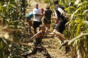 The Zombie Charge will take runners through gravel yards and swamps with plenty of surprises.