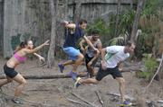 The Miami course is filled with 8 to 10 obstacles that are infested with the undead.