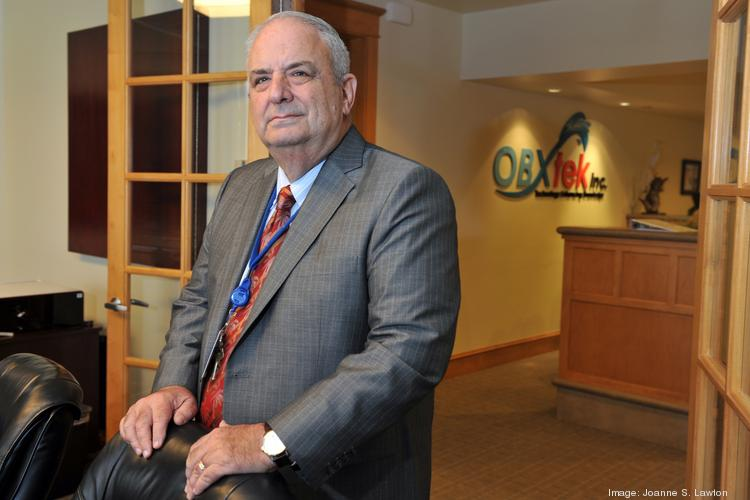 Ed Jesson, CEO of OBXtek, was honored as Washington Business Journal's Fastest Growing Company. OBXtek had a 231.38% growth rate over the last three years.Now it faces the prospect of furloughs, thanks to the government shutdown.