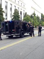 Gunfire causes chaos on Capitol Hill