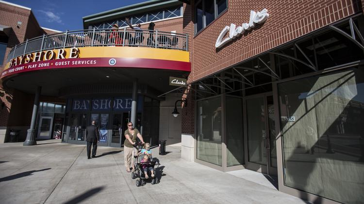 Several new stores are moving into Bayshore to replace original tenants whose leases expired.