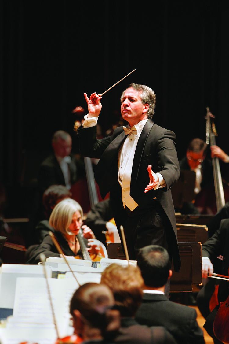 Jacksonville Symphony conductor Fabio Mechetti, above,  is leaving after 14 years, and eight contenders are competing to take his place.