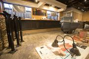 The restaurant, replacing Bravo Cucina Italiana, has been extensively remodeled.