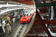 The General Motors Bowling Green Corvette Assembly is 1 million square feet covering 212 acres.