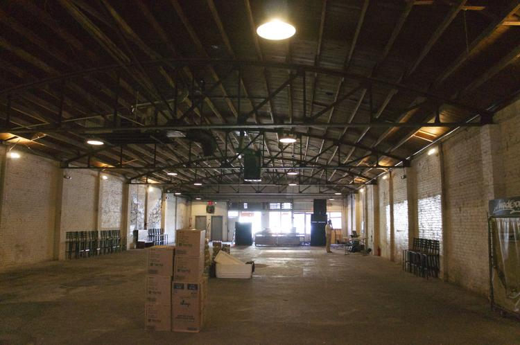 Construction has begun on Ironwood Hall, a 700-capacity private event space on East Seventh Street near Red River Street.