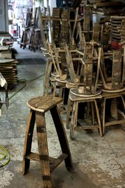 Demand For Bourbon Barrel Furniture Is Growing For Jc Wood