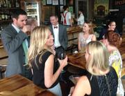 Attendees gather for fun and networking at The Row in mid-town Nashville.