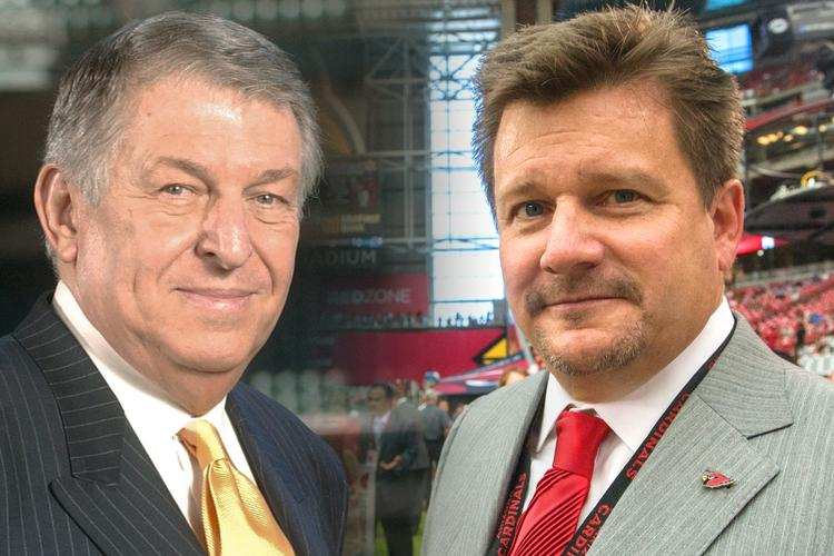 Jerry Colangelo (left) and Michael Bidwill