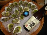Oysters with cucumber vinaigrette from Kata Robata
