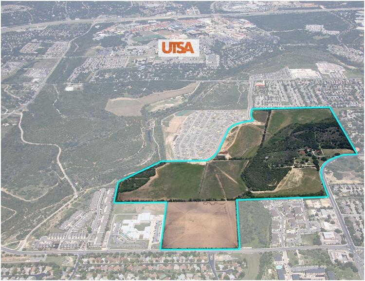 Dallas firms Stratford Land Co. and Legacy Capital Co. have sold 27 acres of land in the company's planned development at the intersection of Babcock and De Zavala to Meritage Homes.
