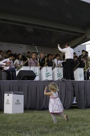 Fore!Fest kicked off with an early performance by the Dublin Coffman High School Jazz Band.