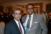 Avi Halpert, left, from No. 48 United Therapeutics Corp., and Syed Rumin from MassMutual Greater Washington.
