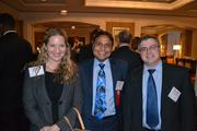 From left, Monica Tillett from WTAS LLC, Zia Islam from No. 6 Zantech IT Services Inc., and Luke Coombs from WTAS LLC.