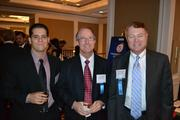 From left, Michael LaCorte from Cherry Bekaert LLP, with Richard Schneider and Clark Childers, both from Cherry Bekart LLP.