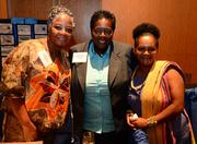 Maryalice Omokeye Mosos, Consulate General of Liberia, Celeste Ingram, Consulate General of Liberia and Mary Bowers, executive at Association of Kenyan Professionals in Atlanta.
