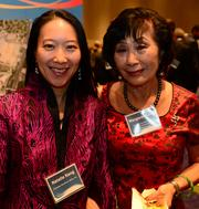 Natalie Keng and Margaret Keng with Chinese Southern Belle, Inc.