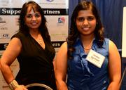Kiran Agnihotri with the US India Business Summit and Devika Agnihotri US India Business Summit.