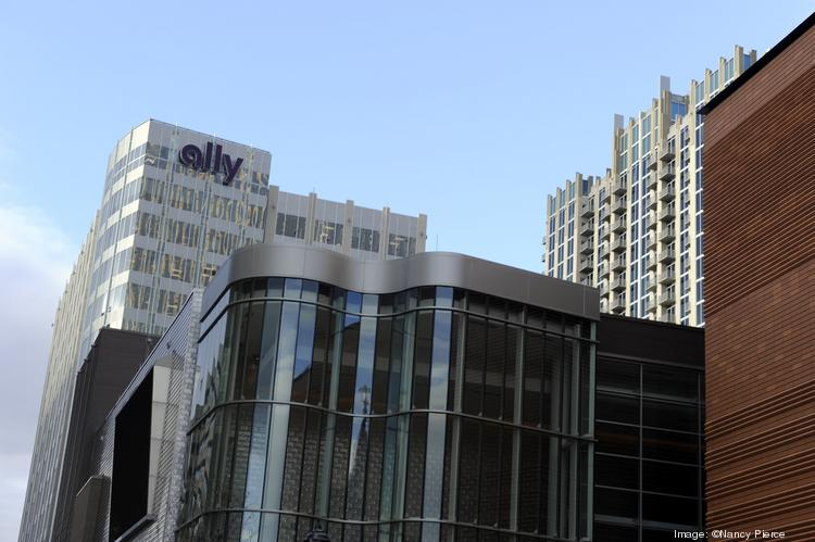 One of Ally Financial's largest corporate centers is located in the Ally Center at 440 S. Church St. in Charlotte.