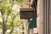 Ship Tavern is located inside The Brown Palace Hotel.