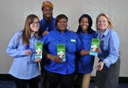 The team from Ben & Jerry's at the Minority Business Leader Awards at the Washington Hilton.