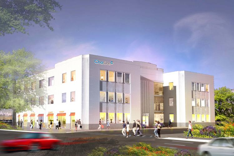 ChaiOne plans for its new headquarters building to house its employees as well as a few retail tenants.