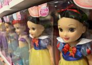 Disney Princess dolls are displayed at the Disney shop in the J.C. Penney store at Timber Creek.