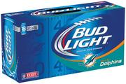 Here's the official Miami Dolphins 12-pack.