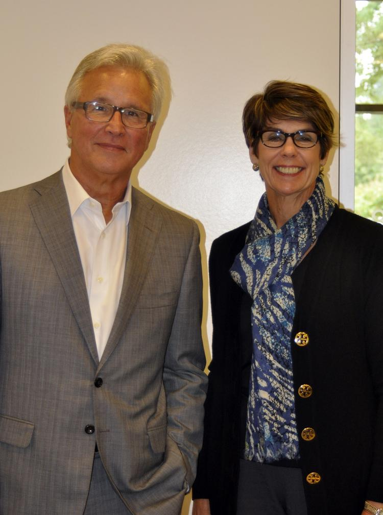 Interim CEO Bob Greczyn and CFO Lucy Martindale of Liposcience of Raleigh.