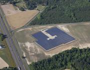 The 2-megawatt  Dunn Solar Farm in eastern North Carolina, built by FLS Energy, was the first project Chris Killenberg developed in the state.