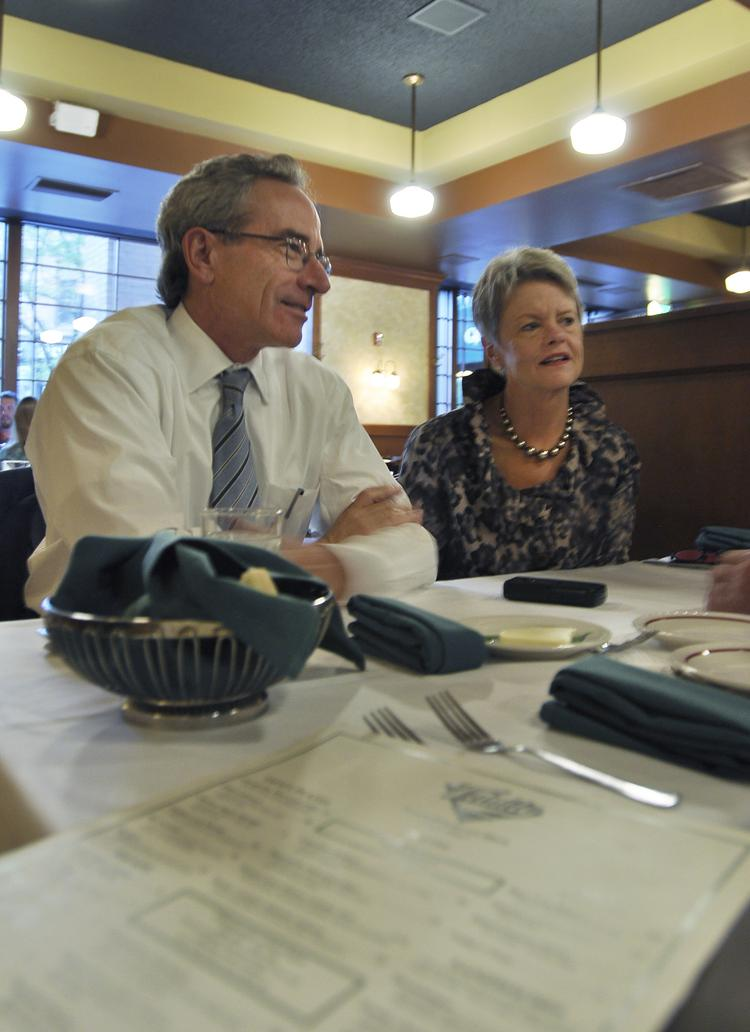 """Bill Mosher and Molly Broeren have been lifelong advocates for downtown. Many consider them downtown Denver's """"power couple."""" They tell Bill Husted they just love downtown ... and each other."""