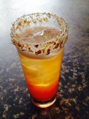 Triniti Restaurant and Bar's Colt 45 cocktail -- with Cracker Jack crumble -- will be available through Nov. 5.