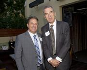 Mike Pierce, Account Executive, Adelante Media and John Caselli, Account Executive, KMAX 31, pose at the Alliance for Women in Media awards.