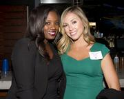 Tia Ewing, Anchor/Reporter, Fox40 and Kelsey Tucker, Account Executive, Fox40, are at the Alliance for Women in Media awards.