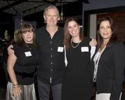 Kristen Kelleher-Wong, Director of Sales, Entercom; Pat Martin, Radio Personality, 98 Rock; Kim Gymblin, Marketing Director, Paramount Equity Mortgage and Kelly Blue, Account Executive, KQCA My58, pose at the Alliance for Women in Media awards.