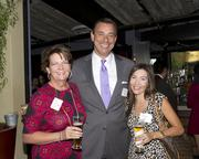 Debbie Ramos, Account Executive, Clear Channel Outdoor; Eric Byers, Director of Sales, KOVR/KMAX and Maria Mason, Account Executive, KOVR 13, are at the Alliance for Women in Media awards.