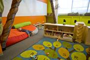 A look inside the toddler daycare room at NextKids. Only the children of co-workers who belong to NextSpace can use the facility, which gives parents access to kids whenever they choose.