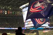 Fans filled Nationwide Arena to the rafters in the first of what the team hopes is many sellouts this season.