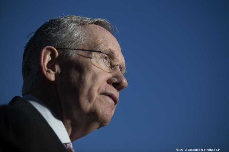"Senate Majority Leader Harry Reid, D-Nev., pushed the button on the ""nuclear option"" by pushing through a rule change that will end the need to get 60 votes in order to win confirmation for most presidential nominees."