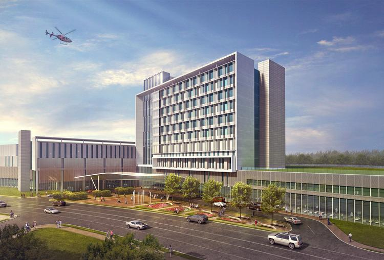 The proposed Prince George's County Regional Medical Center in Largo will contain just 231 beds and cost approximately $655 million to build and equip, according to operator Dimensions Healthcare Systems and its expert consultants.