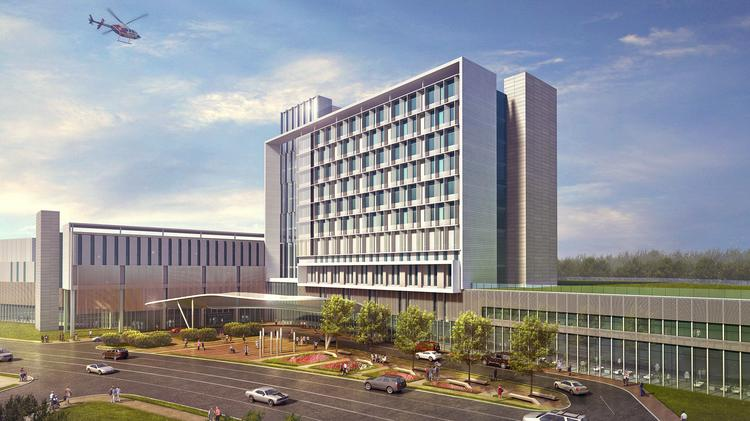 New Prince Georges Regional Medical Center Plan Recommended For
